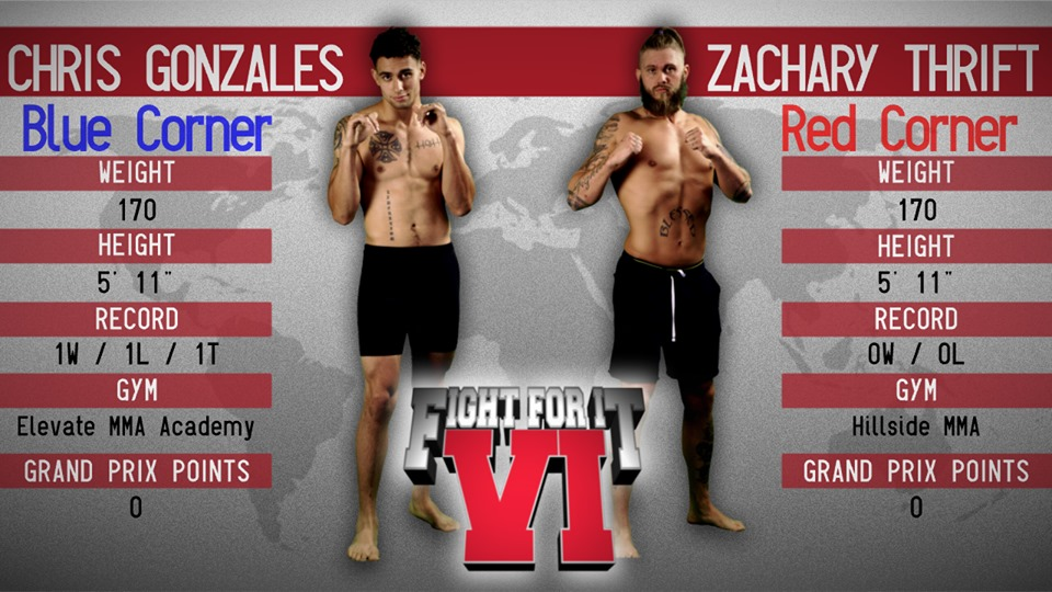 chris gonzales vs zachary thrift