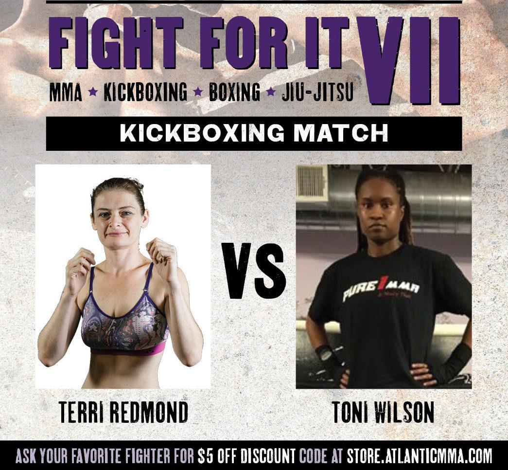 Toni Wilson vs Terri Redmond