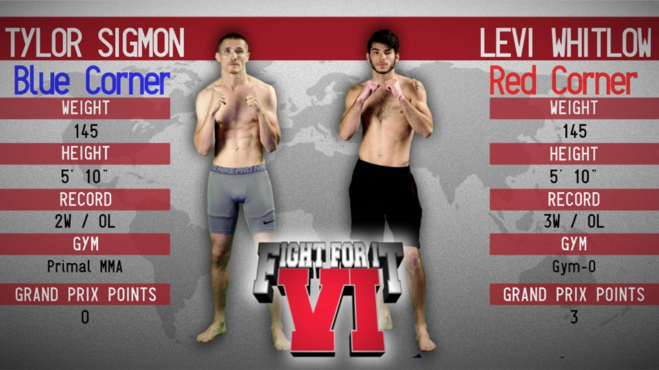 tylor sigmon vs levi whitlow