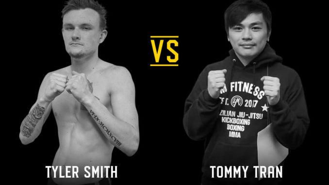 Tyler Smith (0-1 Atlantic MMA) vs. Tommy Tran (0-0 4M Fitness)