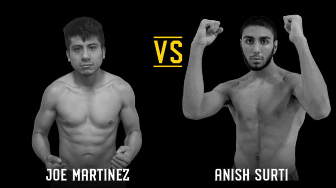 Joe Martinez vs. Anish Surti