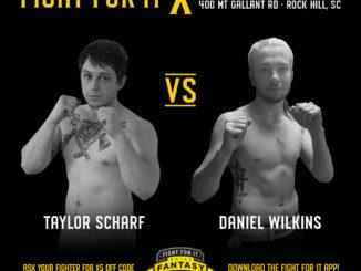 Taylor Scharf vs Daniel Wilkins FFI X