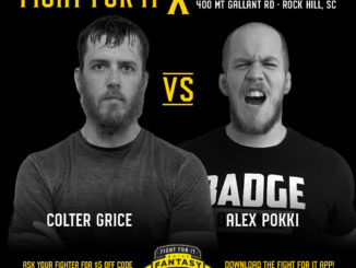 Colter Grice vs. Alex Pokki