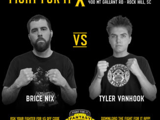Brice Nix vs. Tyler VanHook