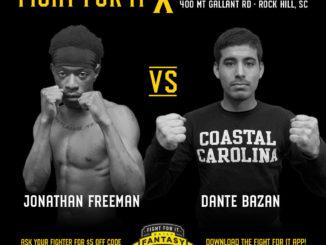 jonathon freeman vs dante bazan