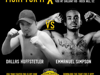 Dallas Huffstetler (2-1; Atlantic MMA) vs. Emmanuel Simpson (1-0 Hayastan MMA)