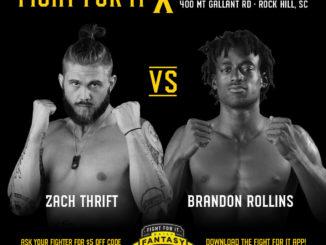 Zach Thrift vs. Brandon Rollins