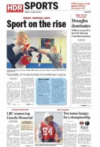 Combat Sports on the Rise
